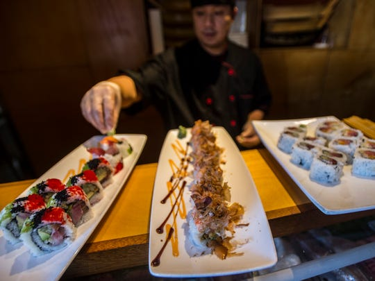 Gary Ma has been making sushi at Asiana House in Burlington for more than a decade. You can sample his work on Christmas Day, from 4:30 - 11:30 p.m.