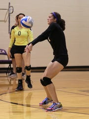 Keeping a volley going for PCA earlier this season