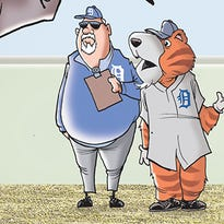 Mike Thompson's sports cartoon caption contest gallery