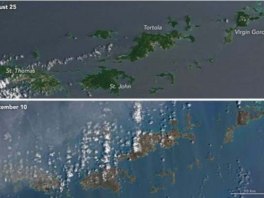 This image from NASA Earth Observatory shows the islands