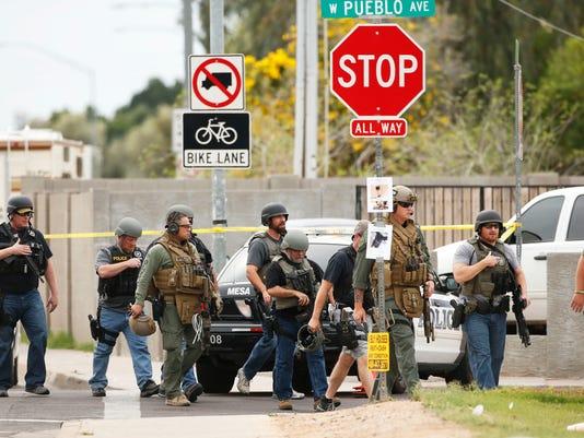 3. Mesa shooting leaves 1 dead
