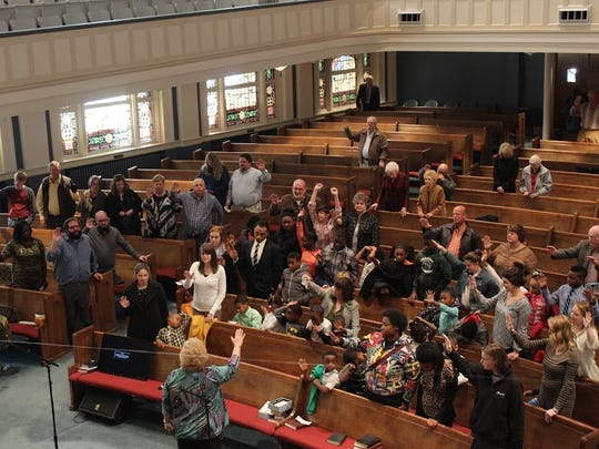 Calvary Baptist church moved to West Capitol Street