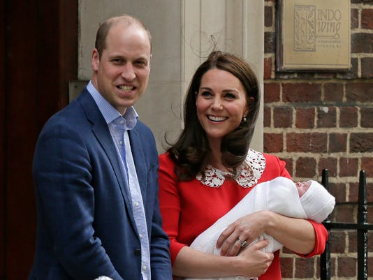 AP BRITAIN ROYAL BABY I ENT GBR