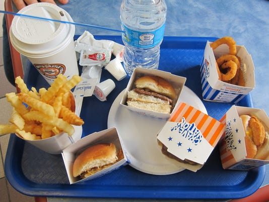 Dude, where's my burger? White Castle rolls out 'veggie sliders'