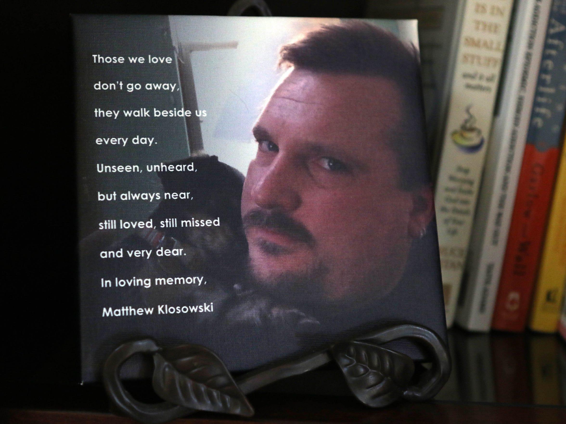 Matt Klosowski overdosed from opiate drugs in January 2015 at age 37.