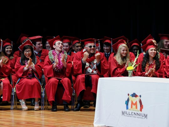Millennium Charter High School's first ever graduating