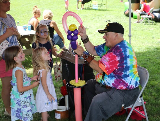 The annual Wabash Riverfest features family fun.