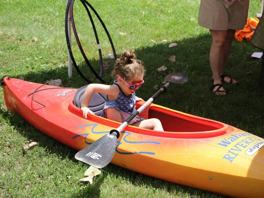 Family fun takes place at a past Wabash Riverfest in Tapawingo Park in West Lafayette.