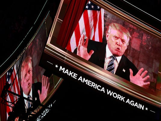 Republican National Convention Donald Trump Tuesday Day 2