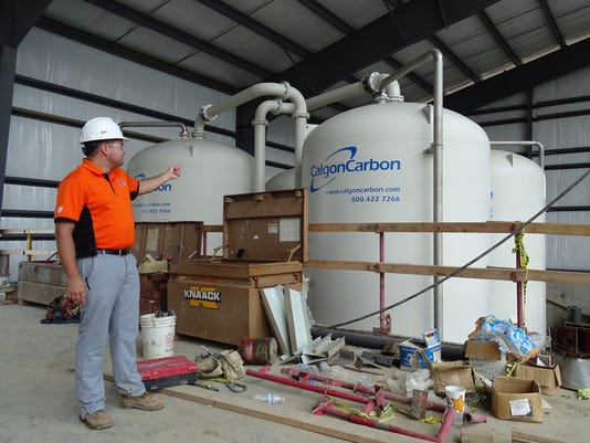 1- Giant carbon filters