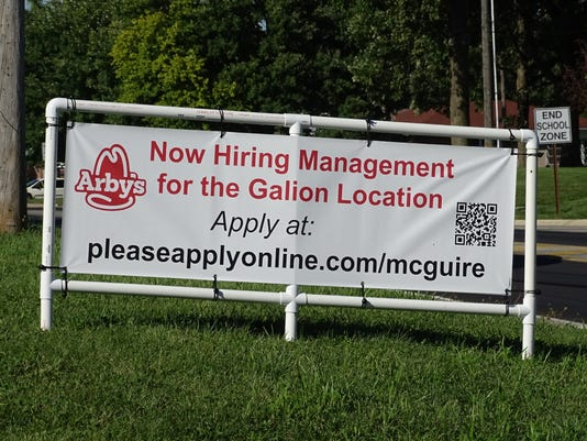 1- Arby's hiring in Galion