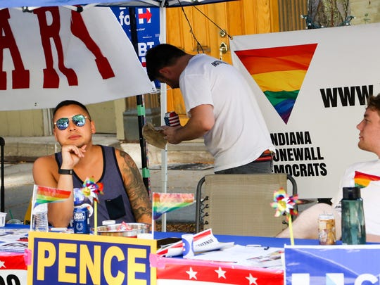 Fun was on display at the 2016 OutFest in Downtown Lafayette. Saturday, September 17th