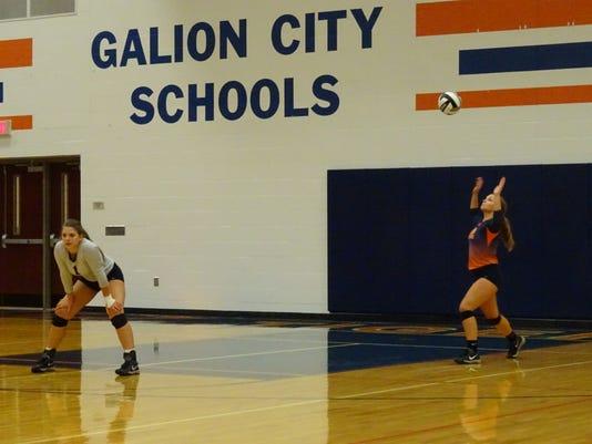 1 - Galion serve