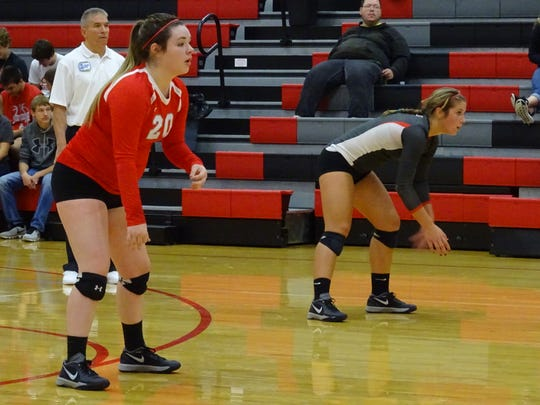 Bailey Agin will be the team's libero for the third