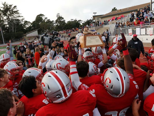 CCS Football: Carmel vs. Pacific Grove