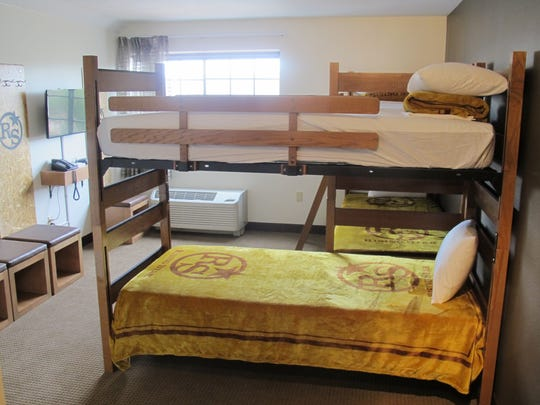 The Rising Star uses bunk beds so teams can stick together