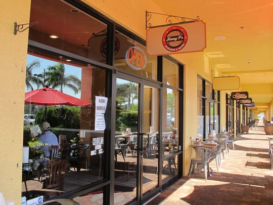 Jimmy P's Burgers & More recently opened in Piper's Crossing retail center on Immokalee Road in North Naples.