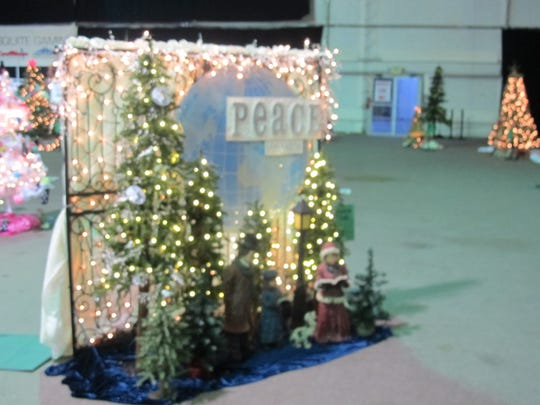 The theme for the 20th annual Festival of Trees was Peace on Earth.
