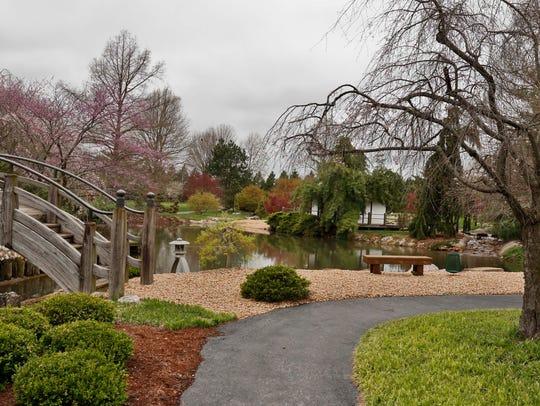The Mizumoto Japanese Stroll Garden in Springfield