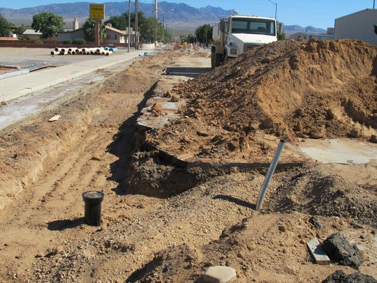 Construction on Riverside Road in Mesquite will continue