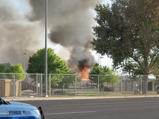 Mesquite Fire and Rescue responded to the initial call