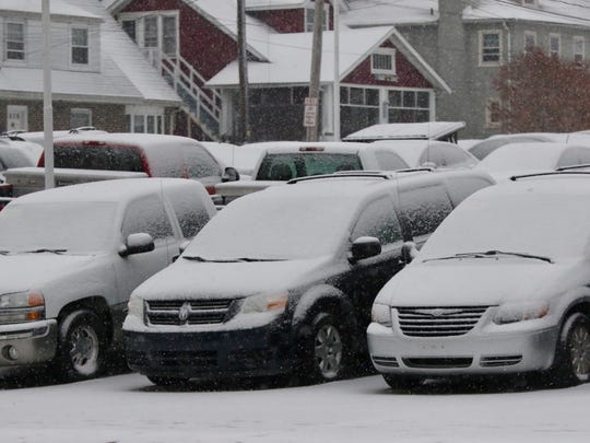 Snowfall in Delaware is expected to end before the afternoon Wednesday.