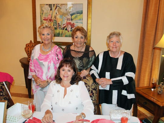 Rose Berkes, left, Gail Ryniak, Bette Notte, and Pat Benson