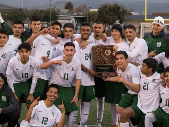 After losing in the CCS Open Division semifinals, the Trojans secured a spot in the CIF NorCal Division II bracket. Led by standout junior Angel Amezcua, Alisal rattled off three straight wins for their first regional title in school history.