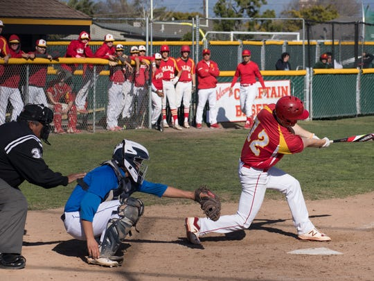 Senior Dominic Scattini has been one of the leaders at the plate for Palma this season. The second baseman's batting 0.394 over the first ten games and leads the team in stolen bases.