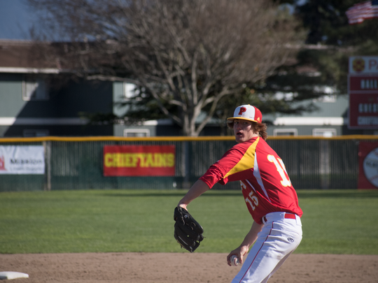 Senior Sam Stoutenborough had the second-best ERA (0.89) of his career this season for a Palma team that was one win away from the CCS Division III title game. Stoutenborough will take to the mound next season for UC Berkeley.