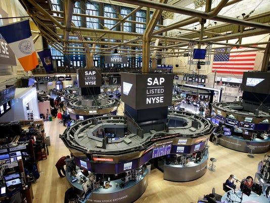 AP FINANCIAL MARKETS WALL STREET F A USA NY