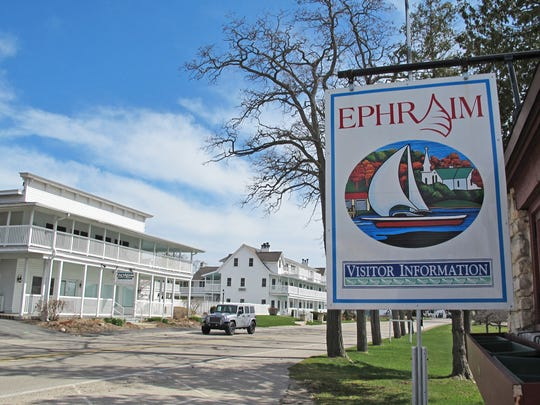 Ephraim is a picturesque village on the Door County peninsula's western shore.