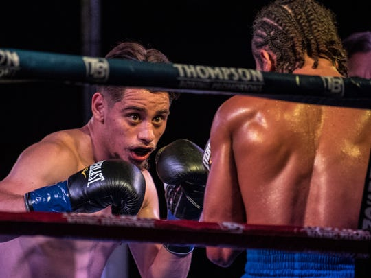 Ruben Villa IV (left) heads into the ring again next month with a fight August 25 in Corona, California.