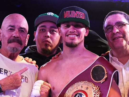 Salinas native Ruben Villa IV won his first WBO title April 14 with a unanimous decision against fellow Featherweight Marlon Olea at the Salinas Storm House.