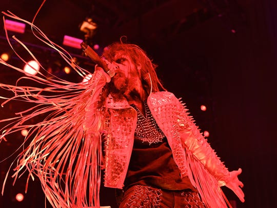 Rob Zombie is among the main attractions at this year's Rock USA.