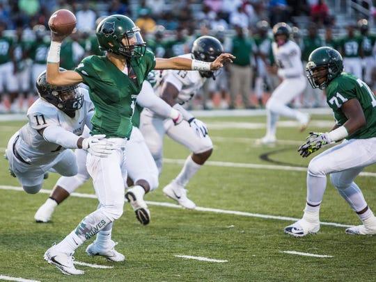 September 01, 2017 - Cordova's quarterback, Christian