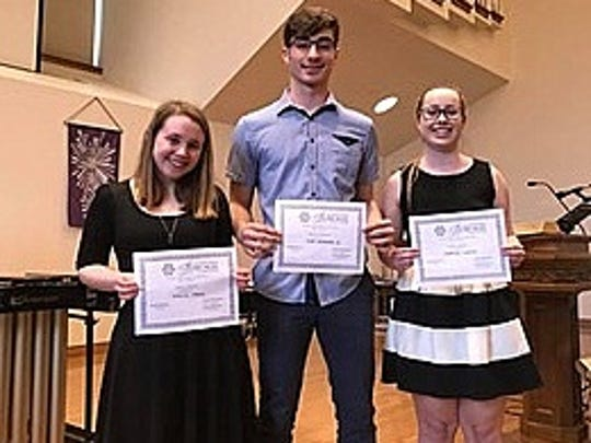 Thursday Morning Musicales awarded its 2018 Georgianna
