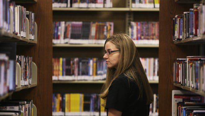The shelves at Ouachita Parish Library Main Branch in Monroe are always filled with every type of book.