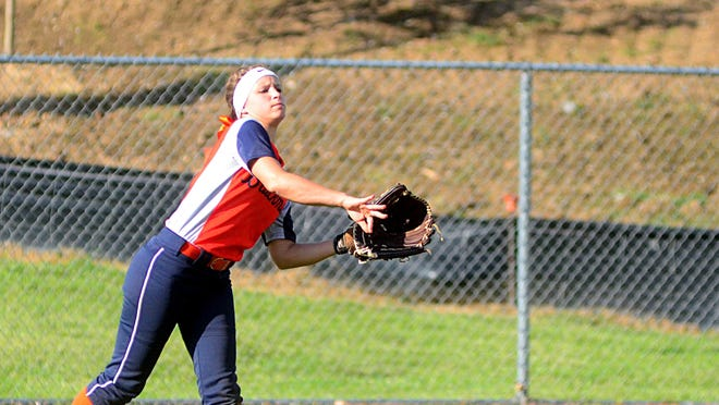 Blackman High outfielder Kirstyn Cuccia collected three hits in two games for the North all-stars in Wednesday's MTSCA All-Star Game.