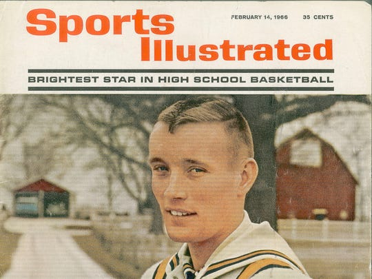 Feb 14, 1966 issue of Sports Illustrated. Rick Mount on the cover.