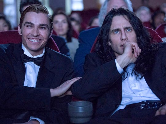 """James Franco and Dave Franco  in """"The Disaster Artist."""""""