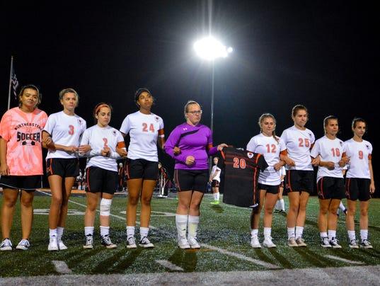 Spring Grove at Northeastern girls' soccer