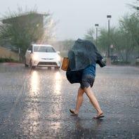 Rain in Phoenix 3 days in a row? Yeah, it happens, but not very often