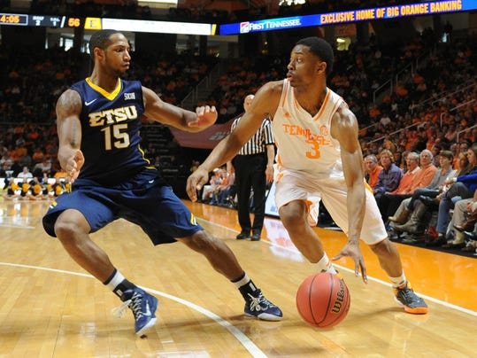 NCAA Basketball: East Tennessee State at Tennessee