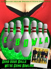 """The poster for """"E-BOWLA"""""""