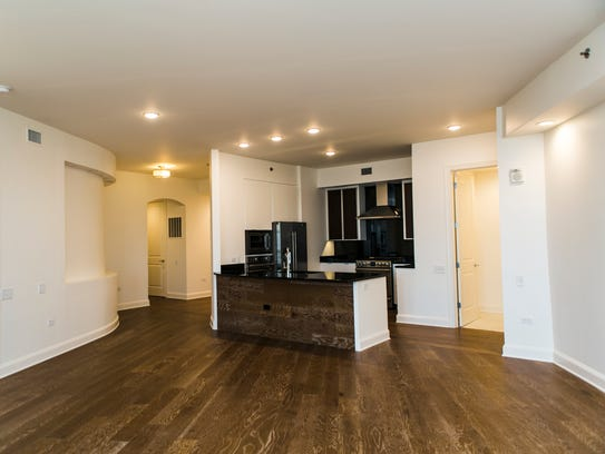 September 6, 2017 - The interior of a penthouse at