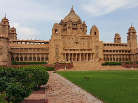 The Umaid Bhawan Palace Jodhpur in India is TripAdvisor's