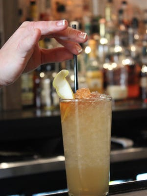 The Honey Trap is one of six specialty cocktails Doc Crow's has created for Frank Sinatra's 100th birthday.