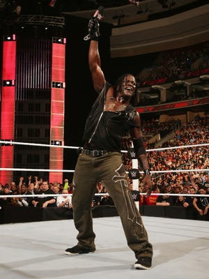 Wrestler R-Truth will appear in the WWE Live event at CenturyLink Saturday.