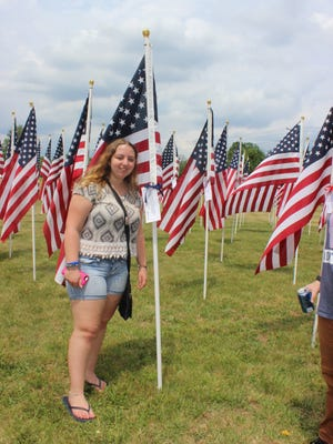 Hannah Rhoads to honor her brother, SPC Ryan T. Rhoads, with a Field of Honor in South Plainfield May 14 to 20.